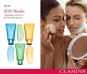 Clarins Exfoliators and Masks