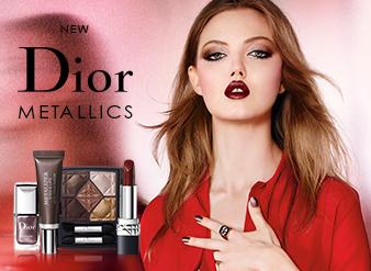 Dior Autumn Look - Metallics