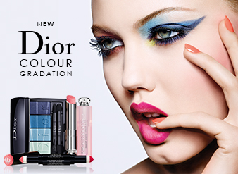 Dior Spring Look - Colour Gradation