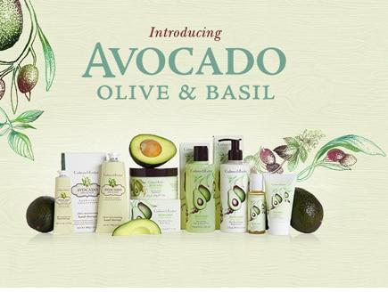 Avocado, Olive and Basil