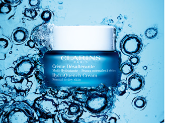 Clarins for Dehydrated Skin