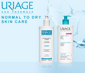 Uriage Normal to Dry Skin Care for Body