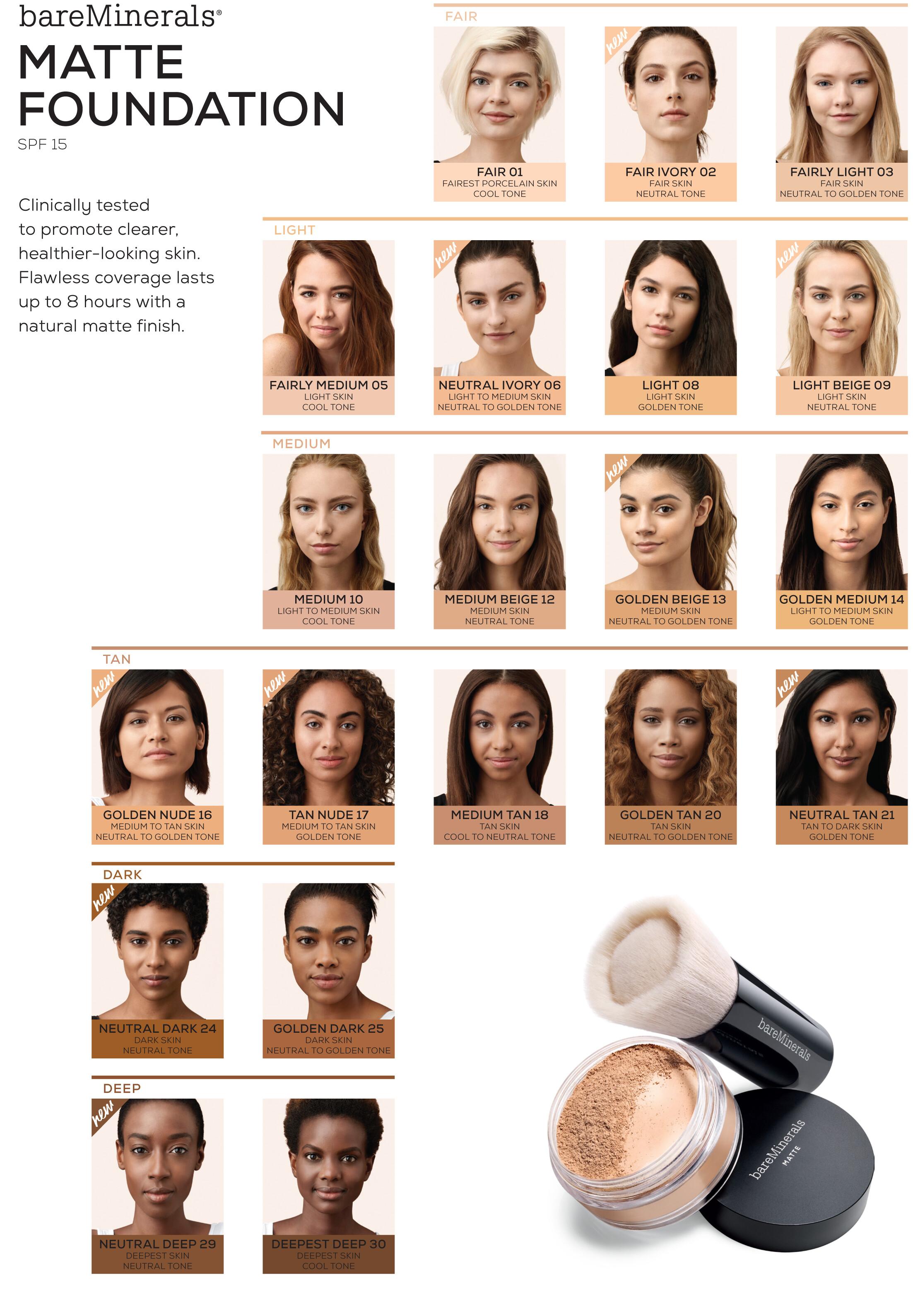 Is Bare Minerals Makeup Cruelty Free: BareMinerals Matte SPF15 Foundation