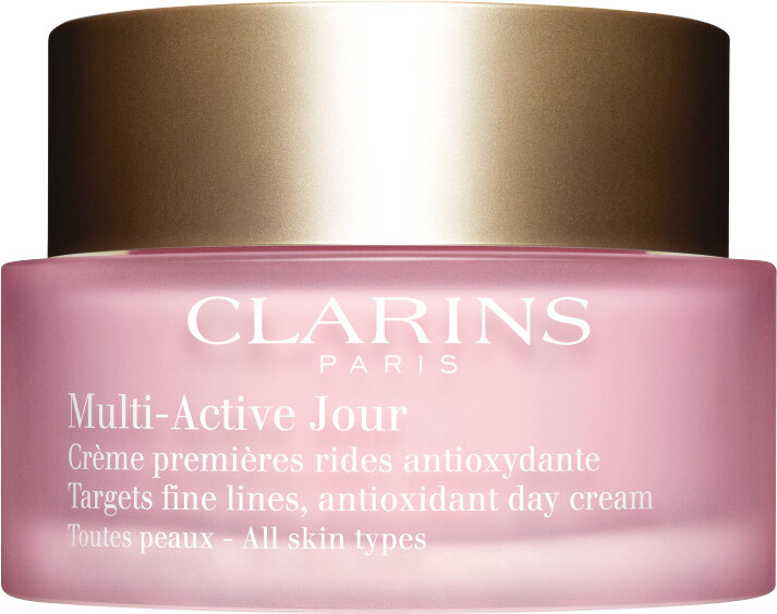 clarins multi active jour antioxidant day cream all skin types authorised clarins stockist. Black Bedroom Furniture Sets. Home Design Ideas
