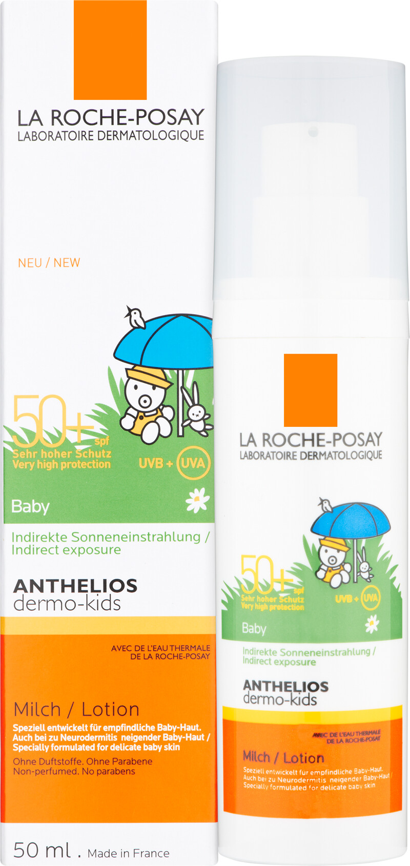 la roche posay anthelios dermo baby lotion spf50. Black Bedroom Furniture Sets. Home Design Ideas