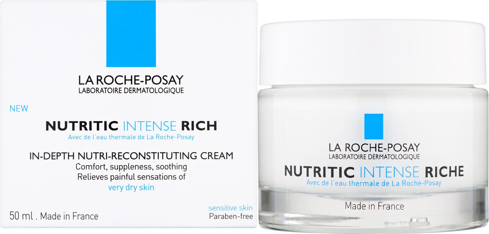 la roche posay nutritic intense riche 50ml. Black Bedroom Furniture Sets. Home Design Ideas