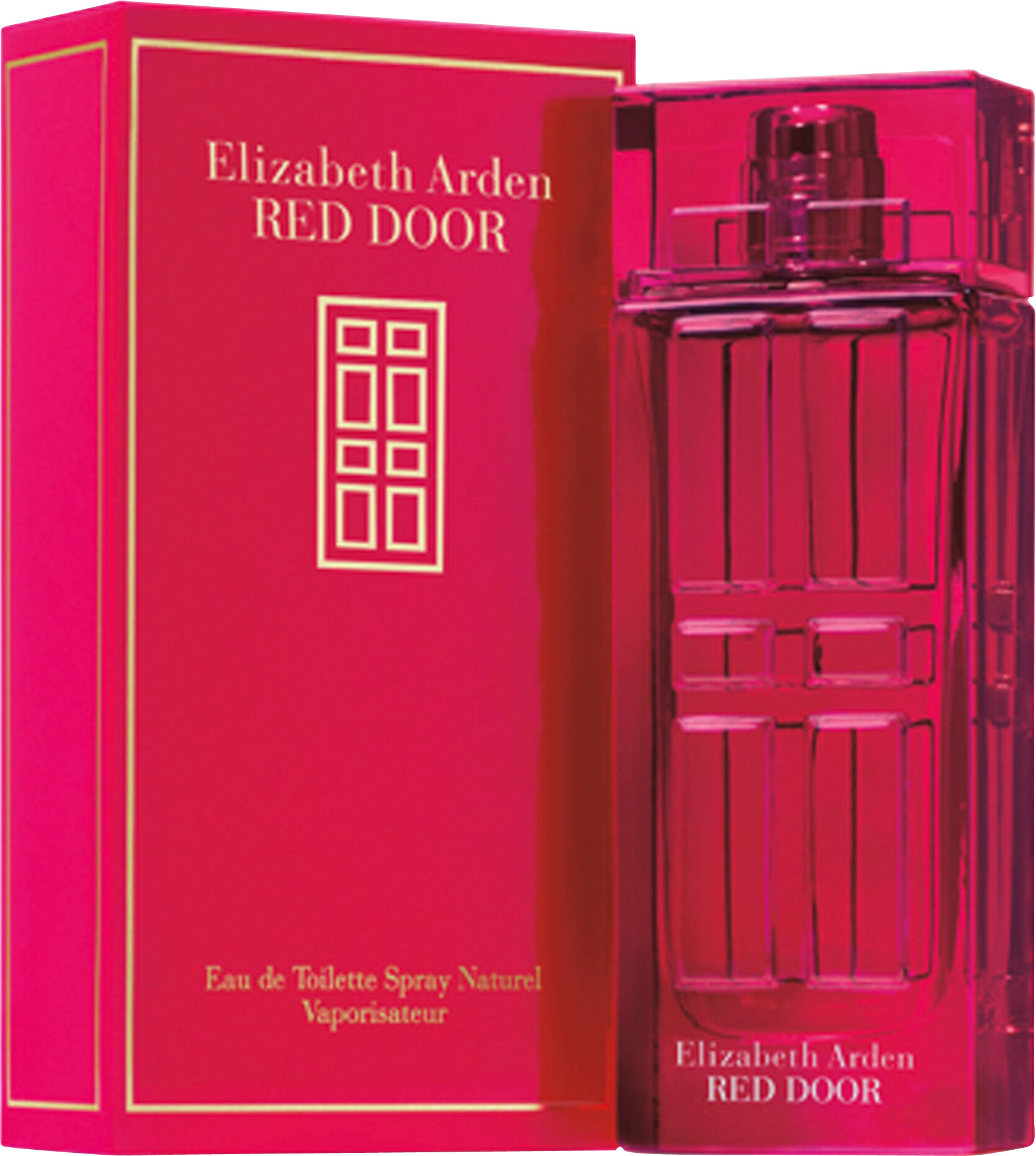 elizabeth arden red door eau de toilette spray 50ml with box