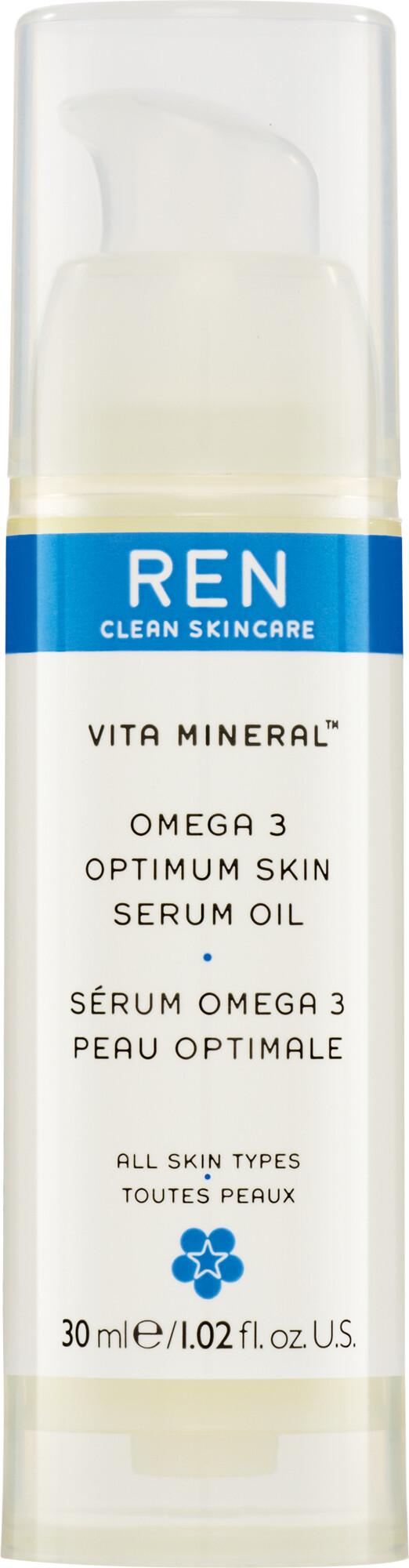 Omega 3 facial serum ren