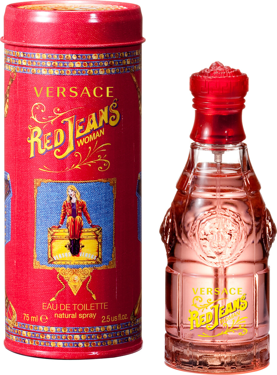 Versace Red Jeans Eau de Toilette Spray