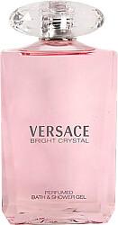Versace Bright Crystal Perfumed Bath & Shower Gel 200ml