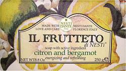 Nesti Dante Il Frutteto Citron and Bergamot Soap 250g