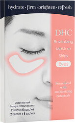 DHC Revitalizing Moisture Strips: Eyes 2 Strips x 6 Pouches
