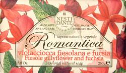 Nesti Dante Romantica Fiesole Gillyflower and Fuchsia Soap 250g