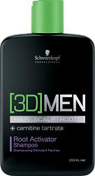 Schwarzkopf Professional [3D]MEN Root Activator Shampoo 250ml