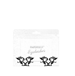 Paperself Individual Eyelashes Small Peach Blossoms 2 pairs