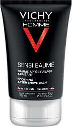 Vichy Homme Sensi-Baume Ca After Shave Balm for Sensitive Skin 75ml