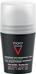 Vichy Homme 72hr Extreme Anti-Perspirant Deodorant Roll-on 50ml
