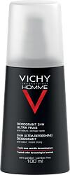 Vichy Homme Deodorant Spray 100ml