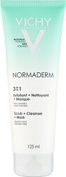 Vichy Normaderm 3 In 1 Cleanser +Scrub + Mask 125ml