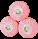 Roger & Gallet Rose Soaps x 3 100g