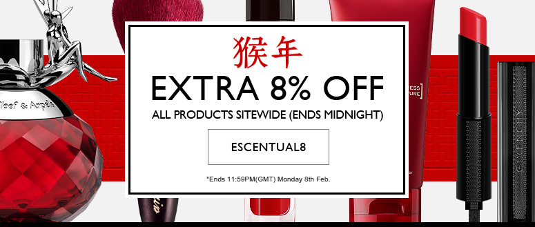 Chinese New Year - Save an extra 8%