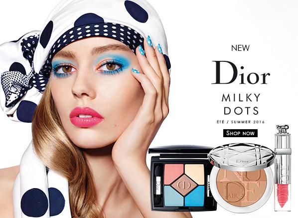 Dior Summer Look - Milky Dots