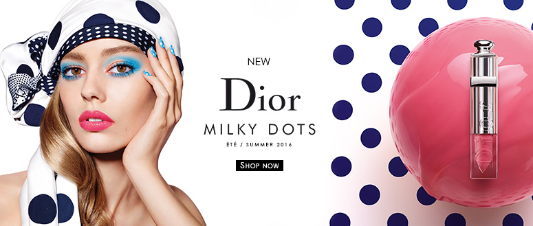 Dior Summer Look - Milky Dots