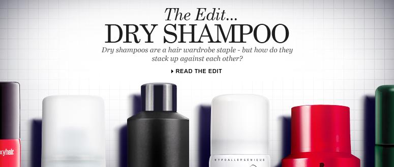 Dry Shampoo Edit
