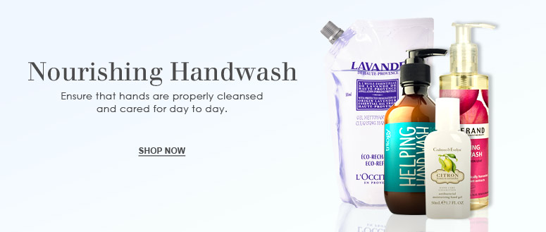 Hand washes from Escentual