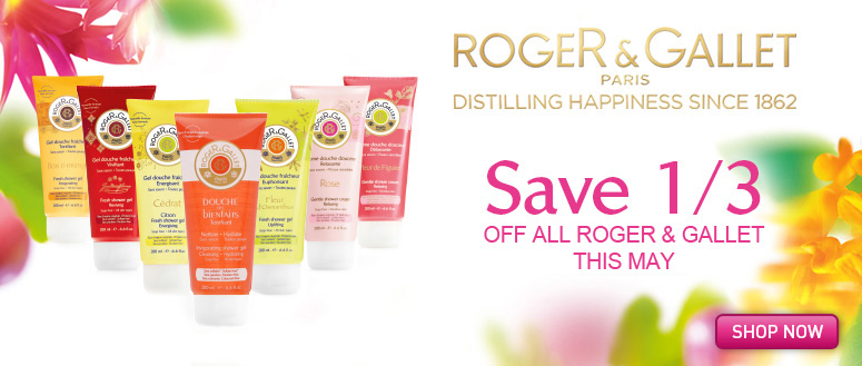 Save 33% off Roger and Gallet