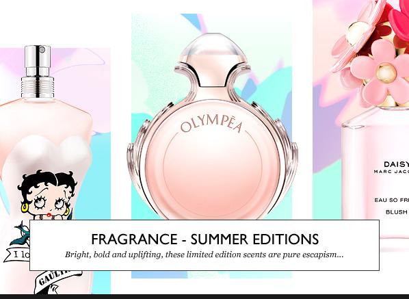 Fragrance - Summer Editions
